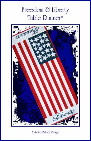 Freedom & Liberty Table Runner