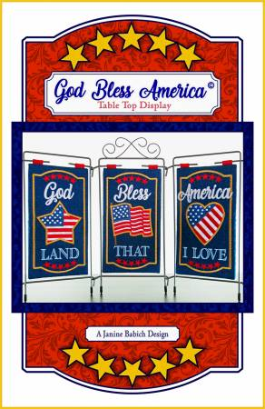 God Bless America Table Top Display