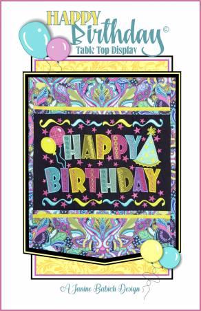 Happy Birthday Table Top Display