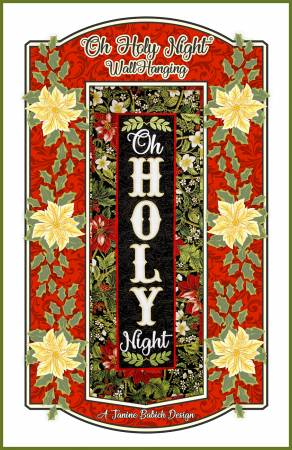 Oh Holy Night Wall Hanging PATTERN