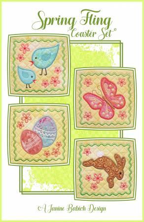 CD Spring Fling Coaster Set