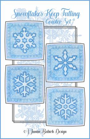 Snowflakes Keep Falling Coaster Set