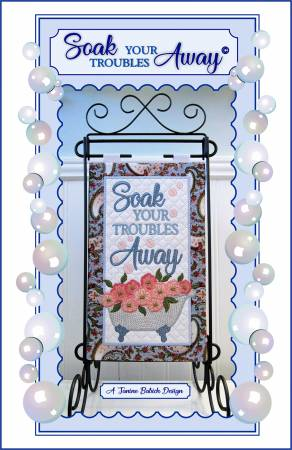 Soak Your Troubles Away Wall Hanging/Table Top Display