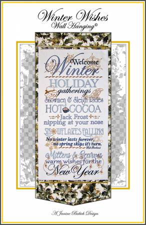 Winter Wishes Embroidery Design