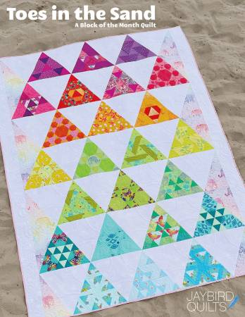 Toes In the Sand Quilt Pattern by Jaybird Quilts