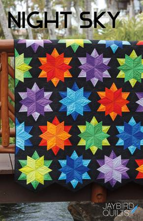 Night Sky Quilt Pattern by Jaybird Quilts
