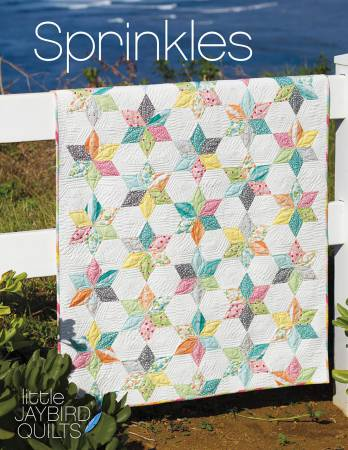 Sprinkles Baby Quilt Pattern by Jaybird Quilts