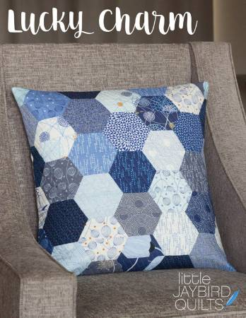 Jaybird Quilts - Lucky Charm Pillow