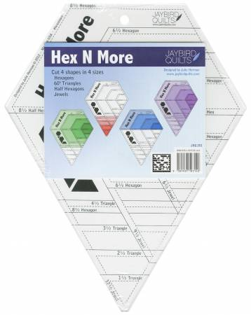 Jaybird Quilts Hex N More Ruler
