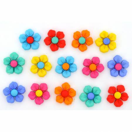 Floral Button Pack - Step Into Spring - 10112