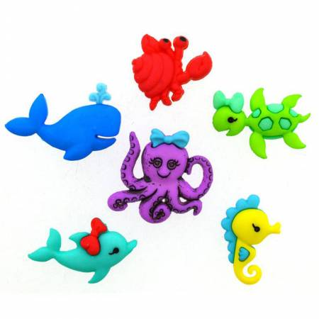 Ocean's Alive button pack