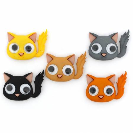 Kute Kittens Button Pack - 10279
