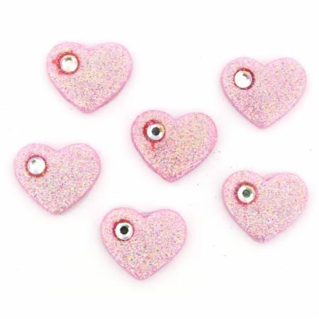 Rhinestone Hearts