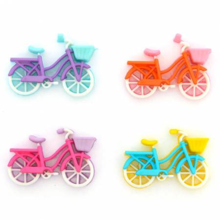 Bike Ride-5 Bicycles/5ct - Dress It Up - 10412