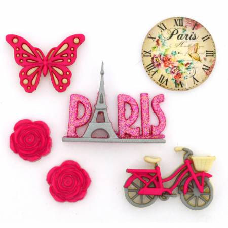Paris Dress it Up Buttons