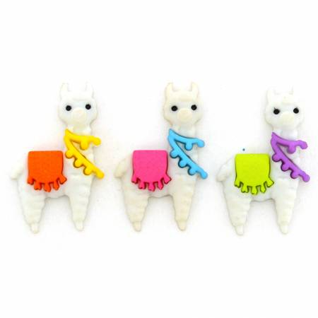 Who's Your Llama? Button Pack - 11388