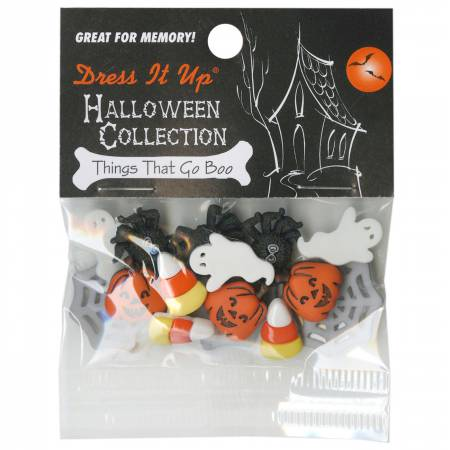 Things Go Boo 15ct Button Pack