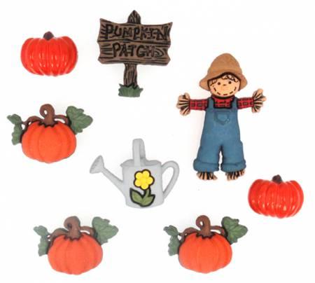 Pumpkin Patch 8ct Button Pack