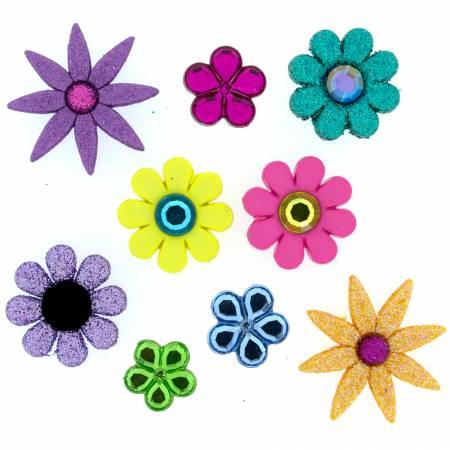 Flower Power Button Pack