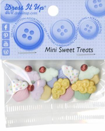 Mini Sweet Treats 8ct Button Pack 4821