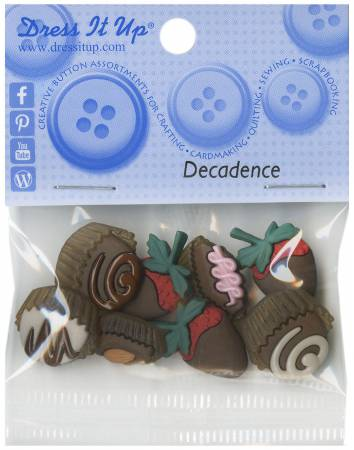 Decadence Button Pack