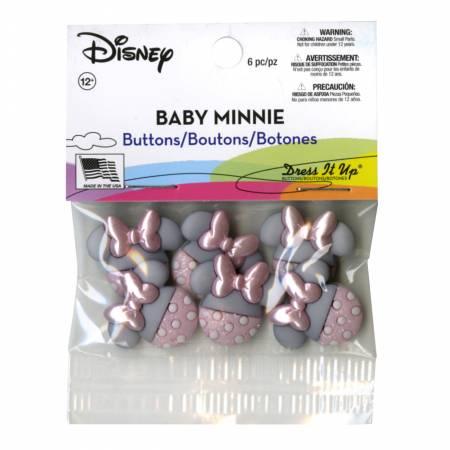 Baby Minnie Button Pack
