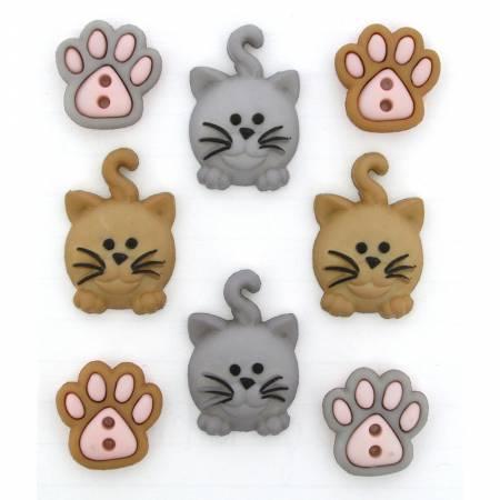Happy Kitties Buttons