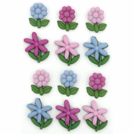 Floral Button Pack - Bloom Where You Are Planted - 9369
