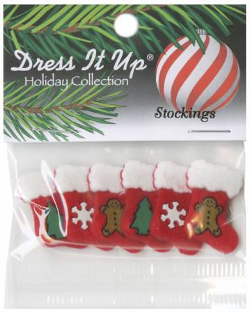 Stockings Button Pack 6pcs