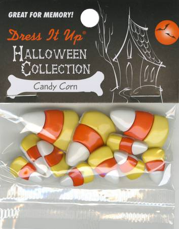 Candy Corn 11ct Button Pack - 2543