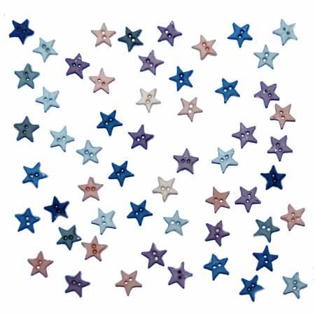 Micro Mini Stars Button Pack - Romance  2922