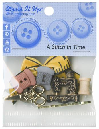 A Stitch In Time 10ct Button Pack