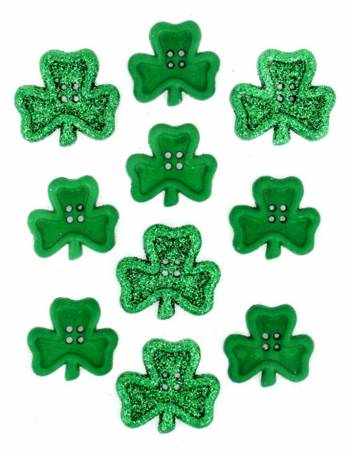 Irish Charm 10ct Button Pack