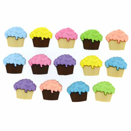 Cupcakes Button Pack - 4618