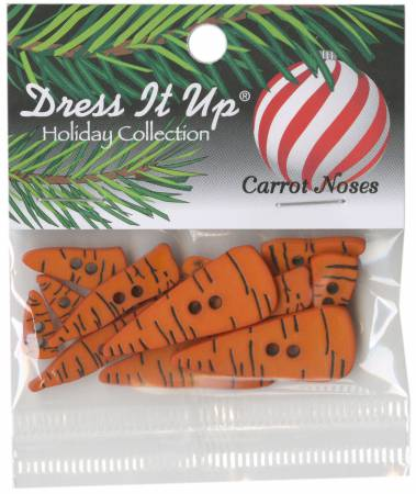 Carrot Noses Button Pack 14pcs - 4683