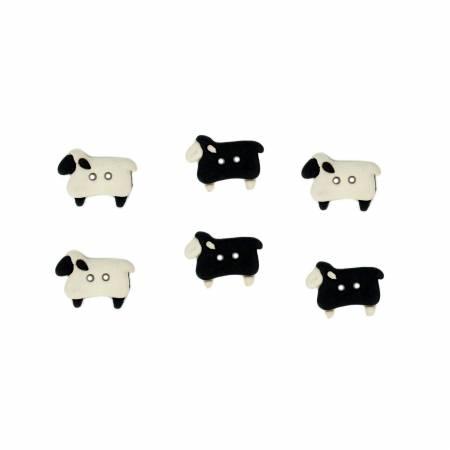 Sew Thru Sheep Button Pack - 5832