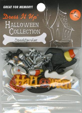 Spooktacular 12ct Button Pack -6690