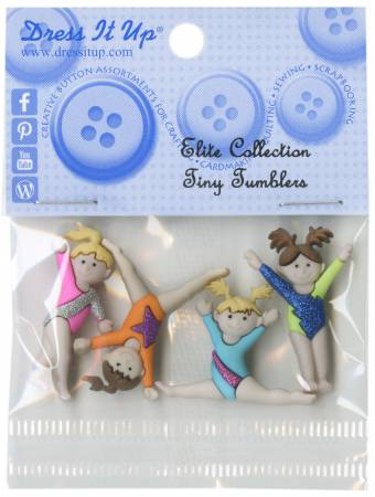 Tiny Tumblers 4ct Button Pack