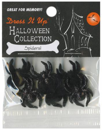 Spiders 6ct Button Pack