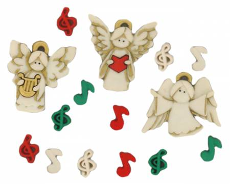 A Choir of Angels 13ct Button Pack