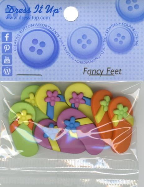 Fancy Feet 8ct Button Pack