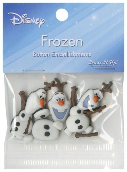 Disney's Frozen - Olaf Button Pack - 7750