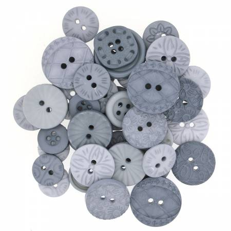 Color Me Grey Button pack