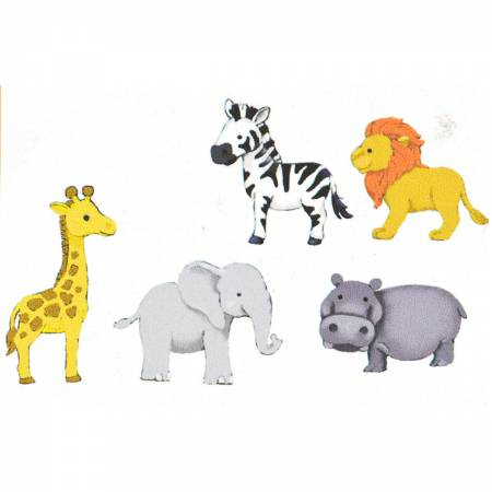 Zoo Cuties Button Pack - 9005