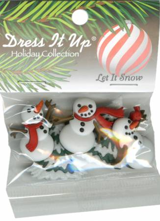 Dress It Up - Snowman Buttons