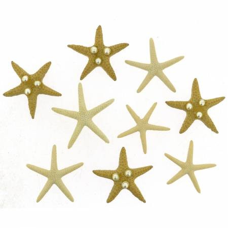 Starfish Wishes Button Pacl - 9365