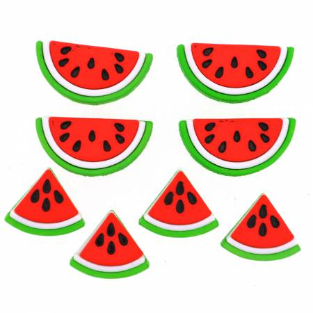 Watermelons Button  Pack - 9383