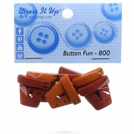 Clay Pots Button Pack