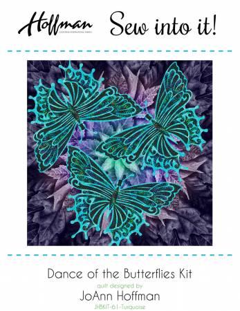 Dance of the Butterflies - Turquoise - JHBKIT-61