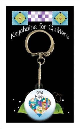 Keychain Sew Happy